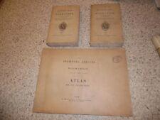 1834.Anciennes abbayes de Normandie.2/2 + atlas.Léchaudé d'Anisy