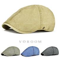 Casquette de lierre en coton pour homme béret chapeaux Vert/ Marine/ Noir/ kaki