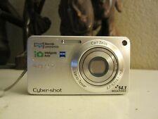 Sony Cyber-shot DSC-W350 14.1MP Digital Camera -Silver