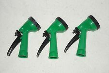 Lot of 3 Garden Hose Nozzle Water Sprayer Sprinkler Head Nozzle 4 Spray Parrens