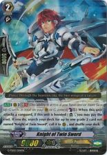 1x Cardfight!! Vanguard Knight of the Twin Sword - G-TD02/006EN (RRR) Light Play