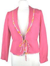 Ladies silk & linen blend jacket by MONSOON UK 8 NEW BNWT