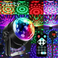 Disco Lichteffekt LED Discokugel RGB DJ Party Bühnenbeleuchtung Fernbedienung
