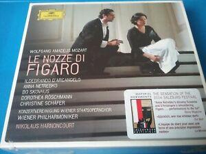 Mozart 3 CD Le nozze di Figaro OVP Harnoncourt NEU Hochzeit des Figaro Netrebko
