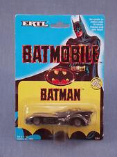 BATMAN BATMOBILE ERTL 1989 1:64TH SCALE MINT ON CARD