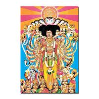 Jimi Hendrix-American guitarist Art Silk Cloth Poster 13x20 24x36 inches Decor