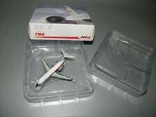 JET-X JX495  TWA MCDONNELL DOUGLAS DC-9 N105IT 1:400 DIECAST MODEL PLANE