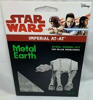 FASCINATIONS METAL EARTH ~ STAR WARS IMPERIAL AT-AT 3D LASER-ETCHED STEEL MODEL