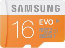 Samsung EVO 16GB microSDHC micro SD SDHC UHS microSD for Galaxy S5 Class 10 Card