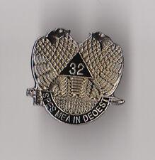 Masonic/Freemason - Hat/Lapel Pin 32ND SCOTTISH DEGREE