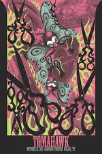 TOMAHAWK Dallas 2012 poster Junko Mizuno S/N VERY LIMITED!