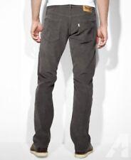 New Levi's 514 Corduroy Jeans - Size: W32 L34 Color: Grey