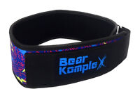 """Bear KompleX 4"""" STRAIGHT Weightlifting belt for Powerlifting, Squats and more"""