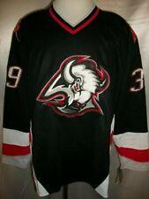 "Dominik Hasek Buffalo Sabres Black ""1996-2006 Throwback"" CCM NHL Jersey Large"