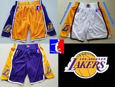 Los Angeles Lakers NBA SHORTS PANTALONCINO swingman