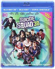 SUICIDE SQUAD (BLU-RAY 3 D) - COFANETTO NUOVO, ORIGINALE, SIGILLATO