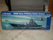 Trumpeter 1/700 Scale USSR Navy P. Velikiy Battle Cruiser