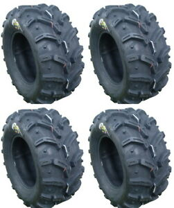 4 Deestone Swamp Witch ATV Tires Set 2 Front 28x10-12 & 2 Rear 28x10-12 D932