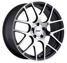 18x8.5 TSW Nurburgring 5x114.3 Rims +45 Gunmetal Wheels (Set of 4)
