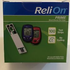 Relion In Over The Counter Diabetes Test Strips For Sale Ebay