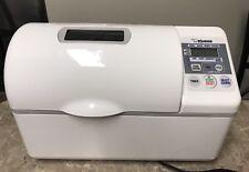 ZOJIRUSHI BBCC-V20 HORIZONTAL Bread Maker Machine Dual Paddle 2 LB With Manual