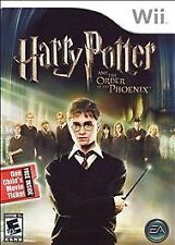 Nintendo wii Harry Potter and the Order of Phoenix *FUN* hary poter ordre