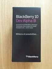 New in Box - Blackberry Dev Alpha B - Black - Rare Z10 Prototype RIM Collectors