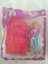 Mattel PollyWorld Polly Pocket Lea Coaster #2 2006 McDonalds Happy Meal Toy NIP