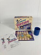 Vintage 1989 Disney Mickey Mouse Yahtzee Milton Bradley 100% Complete Eng/French