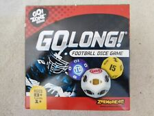 GO LONG! Football Dice Game-NEW-Sports Fan-Man Cave-Family Fun-1+ Players-age 8+