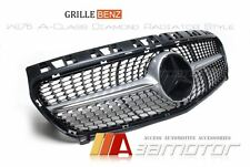 Diamond Front Grille Grill for Mercedes W176 A-Class A180 A200 A250 A45 AMG