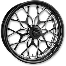 "Performance Machine Platinum ABS 21"" Galaxy Front Wheel For 14-17 Harley Touring"