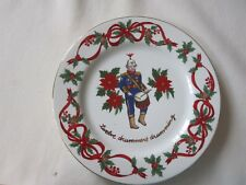Noble Excellence 12 Days of Christmas Salad Plate -12 Drummers Drumming