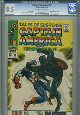 Tales of Suspense #98- February,1968- CGC 8.5(Whiplash,Black Panther,Nick Fury)