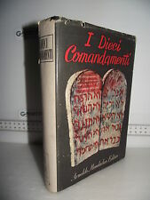 LIBRO AA.VV. I DIECI COMANDAMENTI  1^ed.1948 Con 10 di Illustraz. Aligi Sassu☺