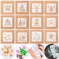 scrapbooking schichtung schablonen frohe weihnachten paintingtemplate