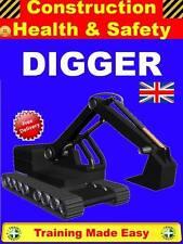 PLANT DIGGER EXCAVATOR 360 JCB Construction Health & Safety Training