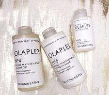 Olaplex No 3, No 4 & No 5 Shampoo, Conditioner & Treatment Trio Brand New!