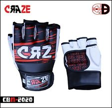 Sparring Grappling Boxing Gloves Fight Punch Ultimate PU Leather Bag Mitts MMA