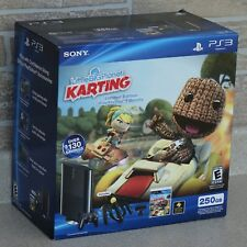 Factory Sealed PlayStation PS3 Slim 250GB Little Big Planet: Karting Move Bundle