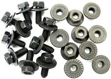 Body Bolts & Flange Nuts For Toyota M6-1.0mm x 16mm Long- 10mm Hex- Qty.20- #377