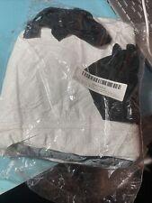 Vintage Dupont Coveralls Hazmat Suit With Hood Elastic. L/xl