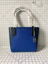 Michael Kors Kimbery Small Bonded Tote Leather Shoulder Bag