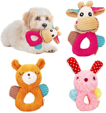 New listing F Feng Pei Dog Squeaky Toys , Plush Dog Toy,3-Pack Interactive Stuffed Dog Toys