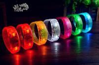 New Voice Controlled Controll LED Flashing Light Bracelet Bangle  Fashion