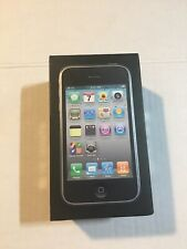 USED Apple iPhone 3GS  Black 8GB Box and Inserts (No Phone)