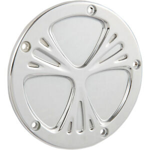 Arlen Ness - 03-570 - Derby Cover, Deep Cut - Chrome