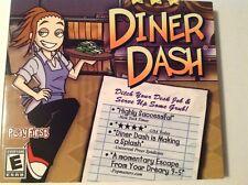 Diner Dash (Windows/Mac, 2005) PC Game New