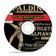 Spalding's Athletic Almanac, 17 Issues Sports History Records 1902-21 CD DVD E25