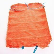 100 Raschelsäcke Obstsäcke Gemüsesäcke Kartoffelsäcke Sack Zugband 25kg 50x78cm